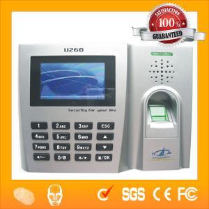 China Biometric Clocking System Time Attendance U260 on sale