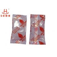 Portable Small Desiccant Packs , Clay Desiccant Packs With Quartz And Calcium Chloride Material