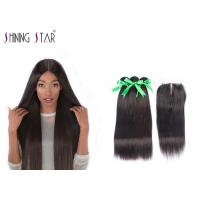 Buy cheap Long Human Hair Bundles Virgin 3 Bundles Straight Colored Beautiful Female from wholesalers