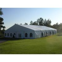 Buy cheap Summer marquee wedding tent with aluminium frame pvc roof cover from Wholesalers