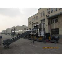 PE PP Film Cutting Compaction Plastic Recycling Granulator Machine With CE / ISO / SGS Certificate