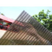 Buy cheap 8mm Brown Colour Polycarbonate Hollow Sheet product