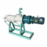 China Screw Press Manure Dewatering Machine Cow Dung Cleaning Machine 4KW on sale