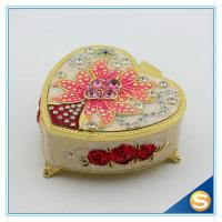 Promotion Gift Metal Zinc Alloy Jewelry Box with Mirror