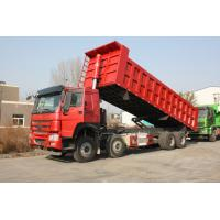 Buy cheap 8×4 371 Horse Power Sinotruk Dump Truck With Volume 20-30 Tons Cargo Box product