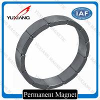 Buy cheap N40SH Segment Neodymium Arc Magnets Sintered Technology Zn Coating ISO9001 product
