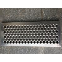China Perf - O Type Grip Strut Grating 3MM Thickness Anti Skid Grating For Steps on sale