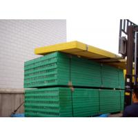 Buy cheap Green Plastic Grate Covers, 1220 X 3660 Fibreglass Reinforced Plastic Grating product