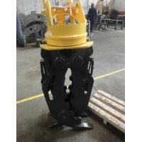 Buy cheap hydraulic timber grab excavator log grabbing timber grappler for construction machinery parts product