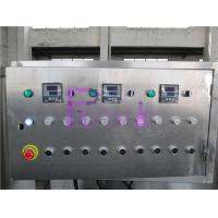 Buy cheap Electric Sterilizer Bottle Packing Machine System , Engineering Plastic Belt Recycling Tank System product