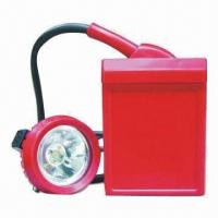 Buy cheap Miner Lamp with 3.7V Rated Voltage, 4Ah Capacity and Reliable Working Time Protection product