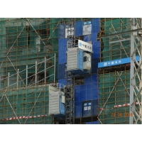 Buy cheap TUV Construction 60 M / Min Rack And Pinion Hoist product