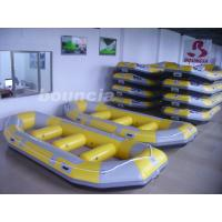 Buy cheap Inflatable Rafting Boat With 2.0mm PVC Tarpaulin Bottoms For Commercial Use product