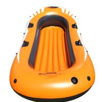 Buy cheap Eco Friendly 4 Person Pvc Inflatable Boat Set With 4 Set Oars product