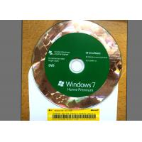 Buy cheap Original DVD Win 7 Basic Home , Windows 7 Retail Version For 1 PC Using product