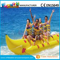 Buy cheap Banana Boat Inflatable Water Toys / Water Towable Tube with Customized Size product