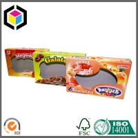 Buy cheap Biscuits Cardboard Packaging Box with Clear Window; Open Ends Cardboard Box product