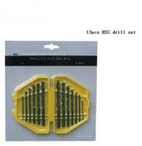 Buy cheap JWT 13PCS HSS Twist Drill Bit Set,Drill bits product