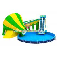 Multi Color Metal Frame Pools With Galvanized Steel Pipes Easy Assemble