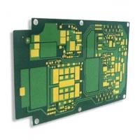 Buy cheap 4 layer with 10u'' flash gold circuit board from wholesalers