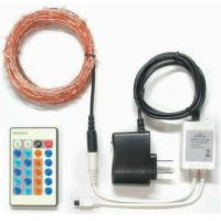 China Remote control RGB led copper wire string on sale
