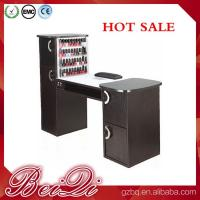 China Nail salon equipment supplies wholesale manicure table vacuum and nail salon furniture on sale