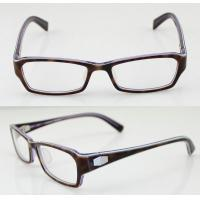 Buy cheap Custom Rectangle Flexible Mens Acetate Eyeglasses Frames For Promotion from wholesalers