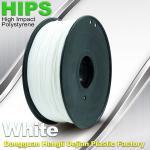 Buy cheap Custom White HIPS 3D Printer Filament 1.75mm / 3mm , Reusable 3D Printing Material product
