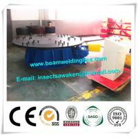China Horizontal Welding Turntable Automatic Weld Positoner Revolving Table on sale