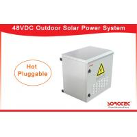 China Dust - Proof  Telecom Solar Power Systems With Galvanized Sheet Cabinet on sale