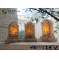 Buy cheap Tombstone Shaped Halloween Led Candles With Color Changing Function product