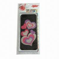 Buy cheap Mobile Phone Sticker for iPhone 5, Made of Acrylic, Customized Designs are Accepted product