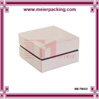 Buy cheap Paper box packaging with foam/ white gift box for promotion/Jewelry gift box ME-TB002 product