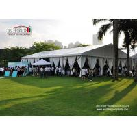Buy cheap 500 People Outdoor Event Tents with Glass Wall and Lighting for Catering Service, Heavy Duty Event Tent for Sale from Wholesalers