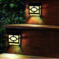 Buy cheap Warm White Solar Outdoor Wall Lights 2 Modes For Front Door , Stair , Landscape product