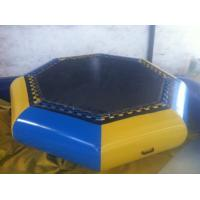Buy cheap Customzied Inflatable Water Toys , Inflatable Water Trampoline For Jumping product