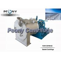 Buy cheap Perforated Basket 2 Stage Pusher Centrifuge For Baking Soda / Ascorbic Acid from wholesalers