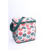 Outdoor Green Polyester Cooler Bag Insulated Cooler Lunch Bags Men Sewing