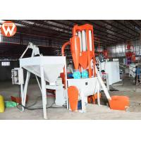 Automatic 500kg/H Floating Fish Feed Production Line 110kw Total Power