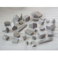 Buy cheap Unground Surface Tungsten Carbide Tool Inserts Tunnel Boring Machine Usage product