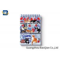 Buy cheap Spiral Binding 3D Lenticular Personalised Stationery Notebooks Cartoon Pet Hardcover product