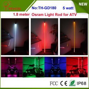 Buy cheap 5 watt 6 inch Osram multi color whit it light rod LED whip for for ATV, Buggy, Rhino, RZR product