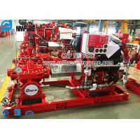 Buy cheap UL Listed And FM Approval Horizontal Split Case Fire Pump With Diesel Engine product
