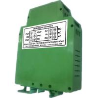 Buy cheap 3000V isolation mA&V to Frequency Signal Isolated Transmitter DIN35 signal converter green from wholesalers