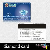 Buy cheap 13.56MHZ Customized Plastic / PVC Magnetic Stripe Cards For Gift product