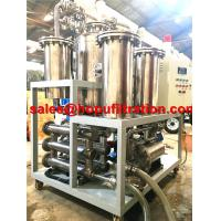 Quality Frying Oil Purification Plant, Cooking oil decolorization System, Waste for sale