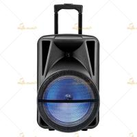 Buy cheap Big 100 Watt Portable Pa Speaker System 15 Inch with Bluetooth from wholesalers