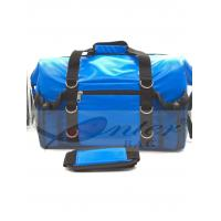 China Blue 500D Polyester PVC Travel Cooler Bag With Screen Printing / Embossing Logo on sale