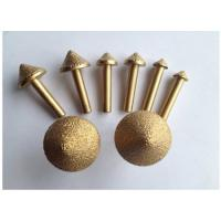 Buy cheap 3D 60° / 90° Diamond Engraving Tool Stone Carving CNC Router Bit High Hardness product