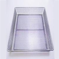 Buy cheap Stainless Steel Electric Welding Medical Disinfection Basket product